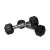 Xmark Fitness 10 -lb Chrome Fixed-Weight Dumbbell Set
