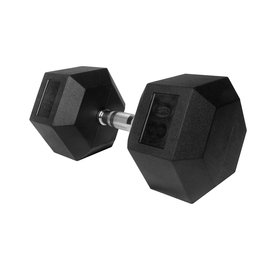 Xmark Fitness 80 -lb Chrome Fixed-Weight Dumbbell