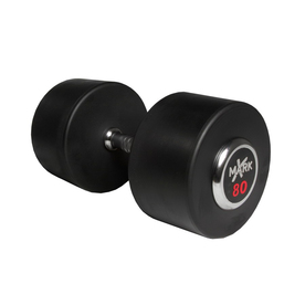Xmark Fitness 80-lb Chrome Fixed-Weight Dumbbell