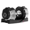 Xmark Fitness 50 -lb Chrome Adjustable Dumbbell