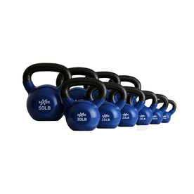Xmark Fitness Multicolor 275 lbs Fixed-Weight Kettlebell