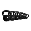 Xmark Fitness Black 105 lbs Fixed-Weight Kettlebell