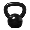 Xmark Fitness Black 15 lbs Fixed-Weight Kettlebell