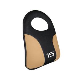 CAP 15 lbs Fixed-Weight Kettlebell