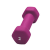 CAP 2-lb Red/Pink Fixed-Weight Dumbbell