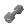 CAP 10-lb Gray/Silver Fixed-Weight Dumbbell