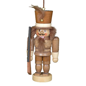 Alexander Taron Natural Wood Soldier Nutcracker Ornament