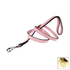Hartman & Rose Sweet Pink Leather Dog Leash