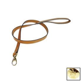 Hartman & Rose Buckskin Leather Dog Leash