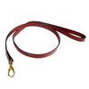 Hartman & Rose Ferrari Red Leather Dog Leash