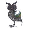 UMA Enterprises 17-in H Owl Gazing Ball Garden Statue