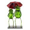 UMA Enterprises 18-in H Rainy Day Frogs Garden Statue