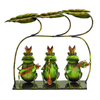 UMA Enterprises 18-in H Party Musician Frogs Garden Statue