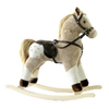 Alexander Taron Taron Pinto Plush Rocking Horse