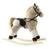 Alexander Taron Taron Pinto Plush Rocking Horse