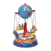 Alexander Taron Taron Tin Globe Rocket Carols Statue