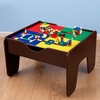 KidKraft Espresso 2 In 1 Activity Table with Lego with Board