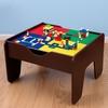 KidKraft Espresso 2-in-1 Activity Table with Lego Board