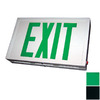 Nicor Lighting Green LED Hardwired Exit Light