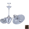 Matthews 3-Light Bronze Ceiling Fan Light Kit