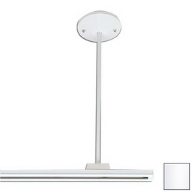 shop nora lighting white linear track light at