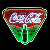 Neonetics 29-in CocaCola Ice Cold Shield Game Room Light