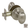 The Delaney Company Callan Satin Nickel Egg Residential Passage Door Knob