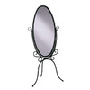 Powell 60.25-in x 27-in Oval Floor Standing Mirror