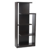 Eurostyle Robbie Wenge 70.87-in 5-Shelf Bookcase