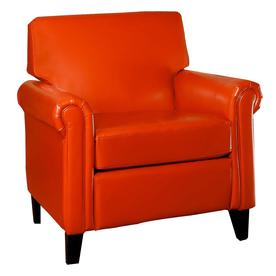 Shop Best Selling Home Decor 1 Lennox Orange Club Chair At