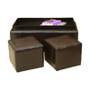 Best Selling Home Decor Andre Brown Rectangle Storage Ottoman