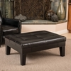 Best Selling Home Decor Chatham Black Rectangle Storage Ottoman
