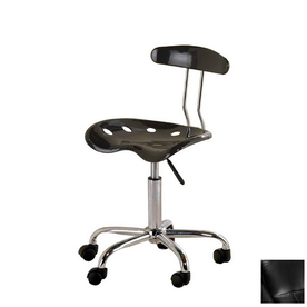 Shop Ace Bayou Metallic Black Task Office Chair at Lowes.