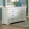 Homelegance Marianne White 6-Drawer Dresser