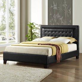 Homelegance Landon Black California King Upholstered Bed