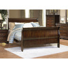 Homelegance Dijon Distressed Cherry Queen Sleigh Bed