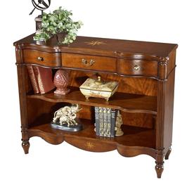 Butler Specialty Plantation Cherry 42-in W x 33-in H x 13-in D 2-Shelf Bookcase