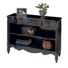 Butler Specialty Plantation Plum Black 33-in 2-Shelf Bookcase