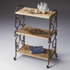 Butler Specialty Metalworks Copper 32-in 3-Shelf Bookcase