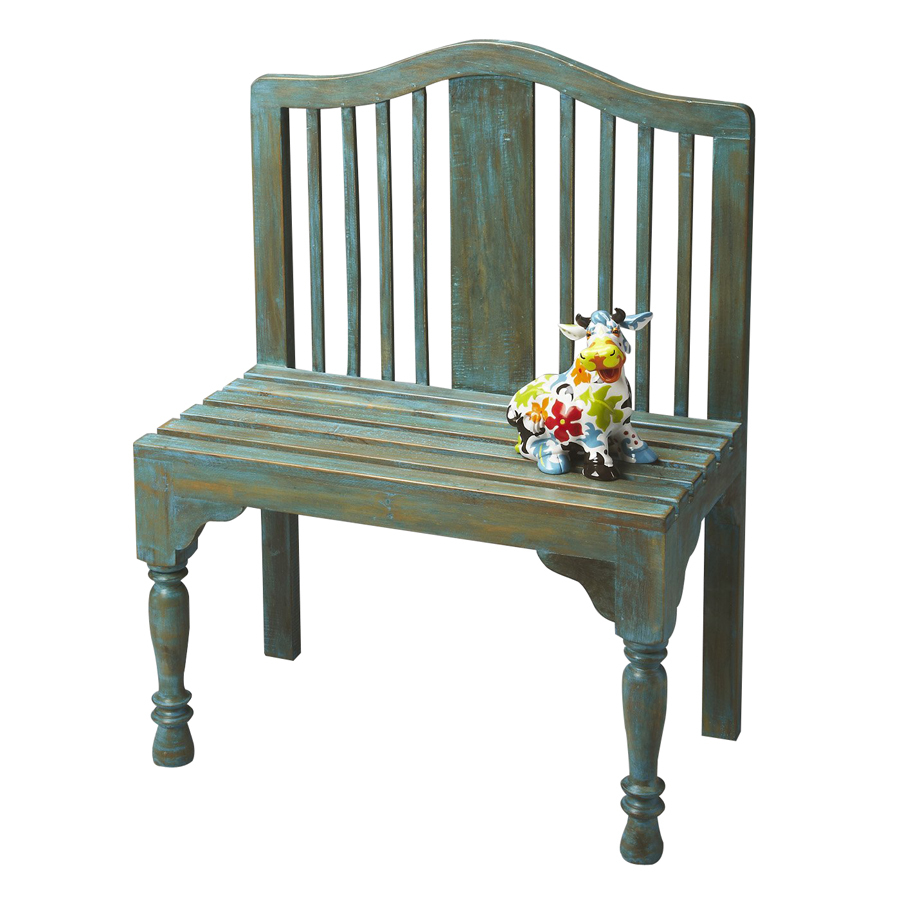 Shop Butler Specialty Heritage Whimsical Antique Indoor Entryway Bench At