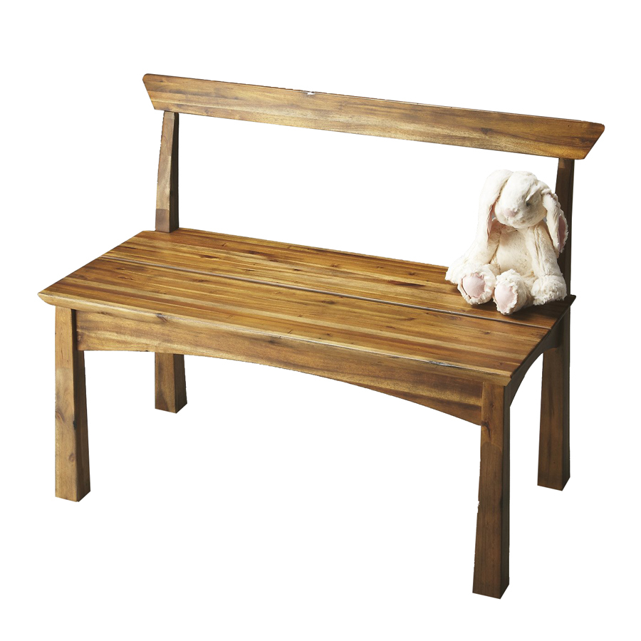 Indoor Foyer Bench : Shop butler specialty loft natural wood indoor