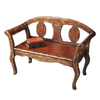 Butler Specialty Artists-ft Originals Tobacco Leaf Entryway Bench