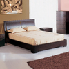 BH Design Maya Espresso Queen Platform Bed