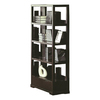 BH Design Parson Wenge 35-in W x 73-in H x 16-in D 4-Shelf Bookcase