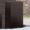 BH Design Zen Chiffonier Espresso 6-Drawer Dresser