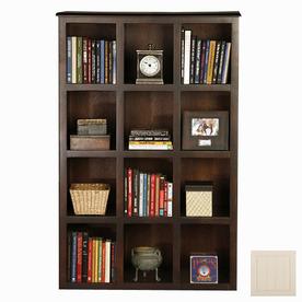 Eagle Industries Coastal Soft White 55.5-in 12-Shelf Bookcase