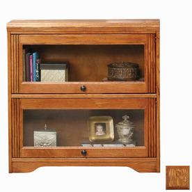Eagle Industries Oak Ridge Medium Oak 46-in 3-Shelf Bookcase