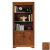 Eagle Industries Oak Ridge Dark Oak 60-in 2-Shelf Bookcase