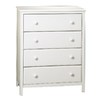 South Shore Furniture Cotton Candy Pure White Standard Chest
