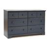 South Shore Furniture Summer Breeze Blueberry 6-Drawer Dresser